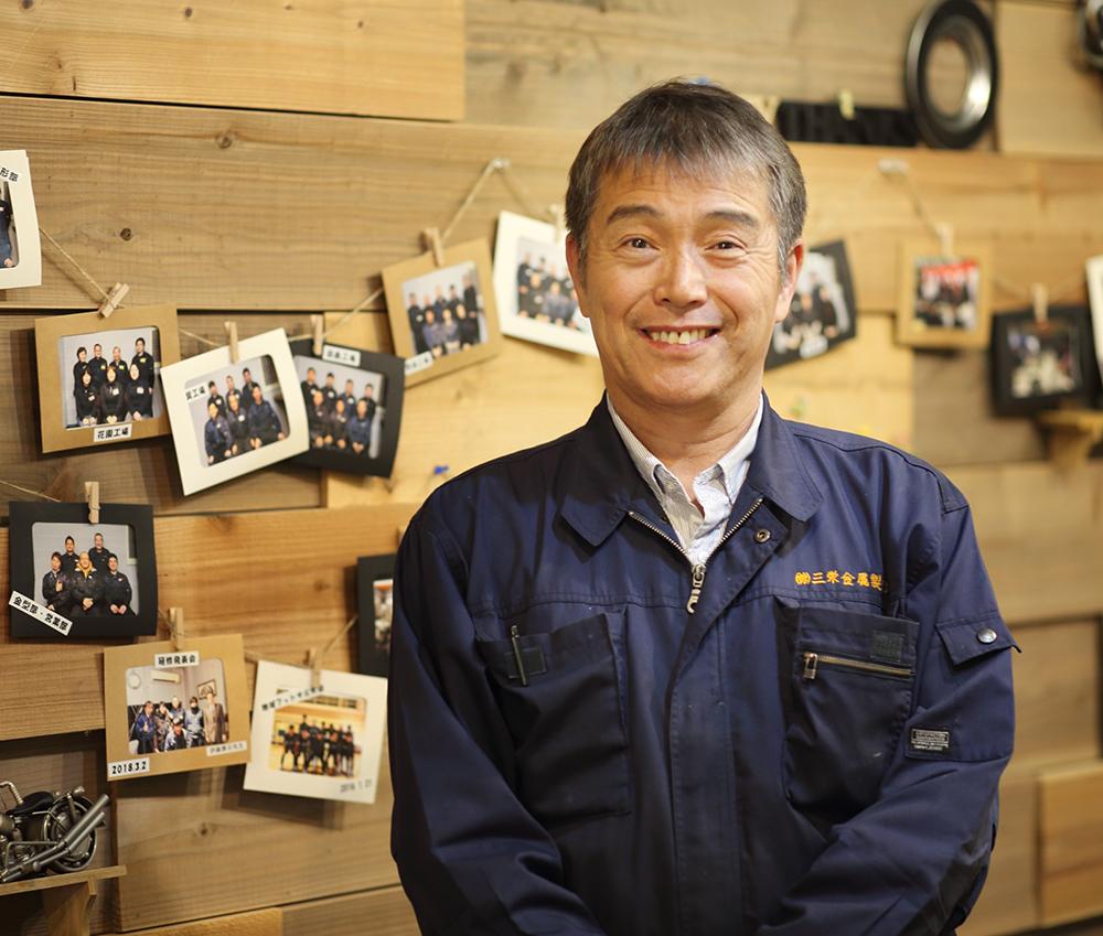 代表取締役社長 文 敬作(山下 裕司)