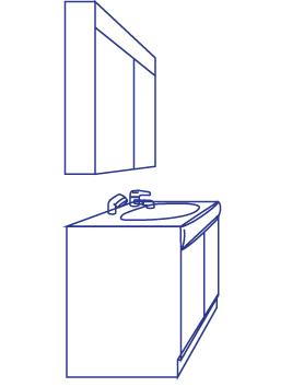 洗面所まわり製品事例